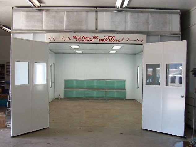 Paint Booth Rental >> Paint Booth Metal Works 360 Inc Greenville Ky Paint Booths
